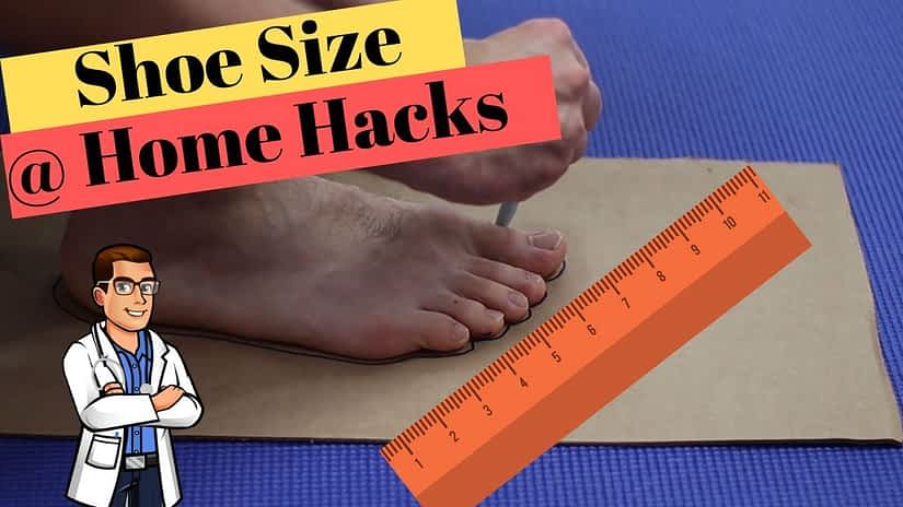Measure Shoe Size At Home