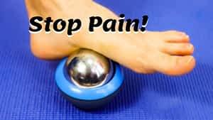 Plantar fasciitis pain relief cryosphere