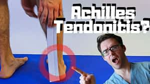 Achilles Tendon Pain & Back of the heel bone pain