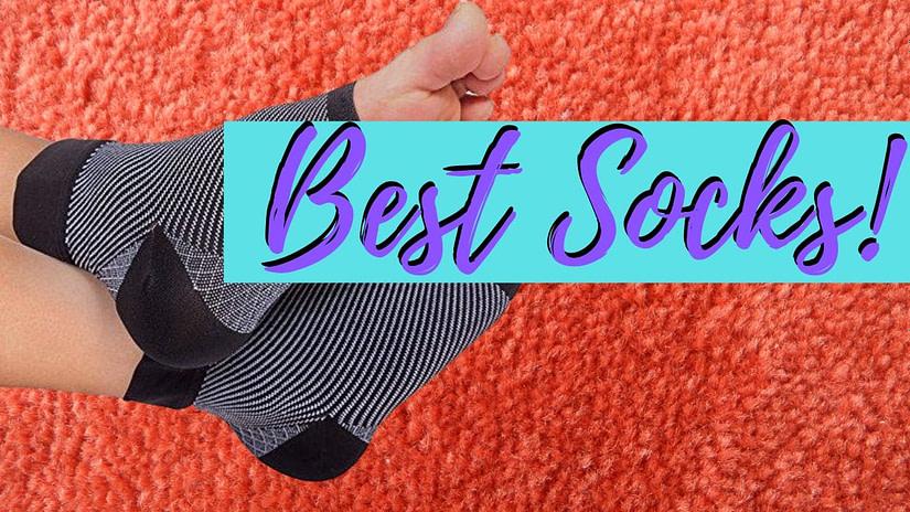 Best Socks for heel pain plantar fasciitis
