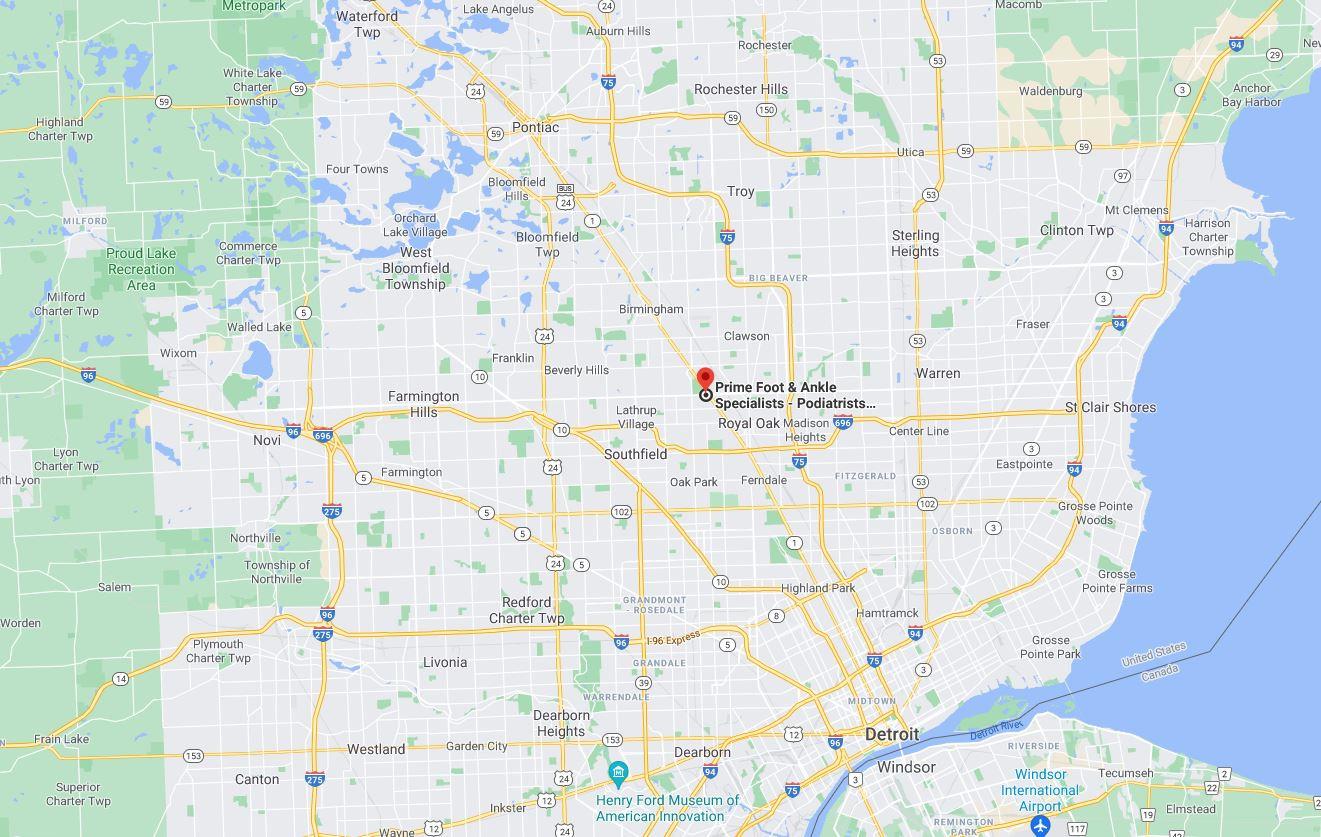 Podiatrists & Foot Doctors Berkley Michigan