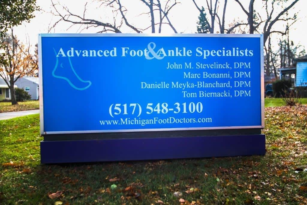 Front Sign Howell Foot Doctors