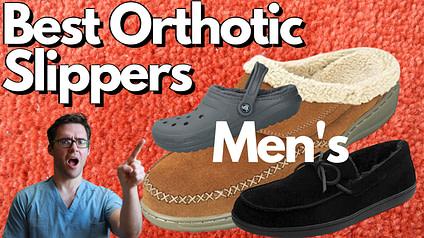 Best Men's Orthotic Slippers (1)