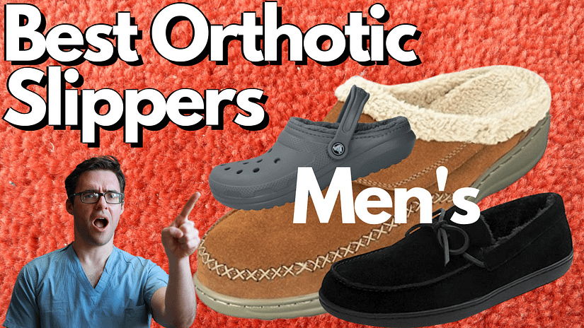 Best Men's Orthotic Slippers (1)