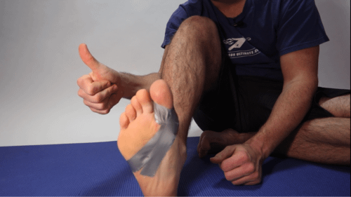 Turf Toe Taping At Home