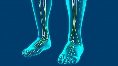 Top of the foot nerve pain