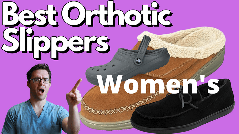Best Womens Orthotic Slippers