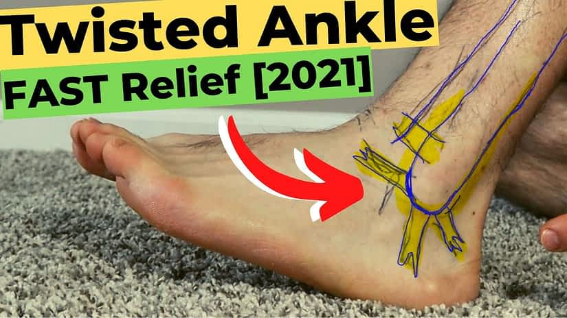 Can You walk on a Sprained Ankle? [Rolled Ankle, Twisted Ankle Sprain]