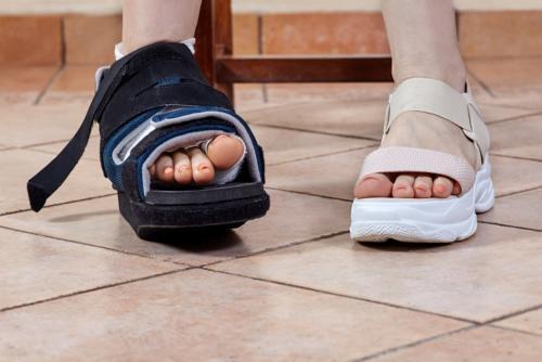Bunion surgical Shoe